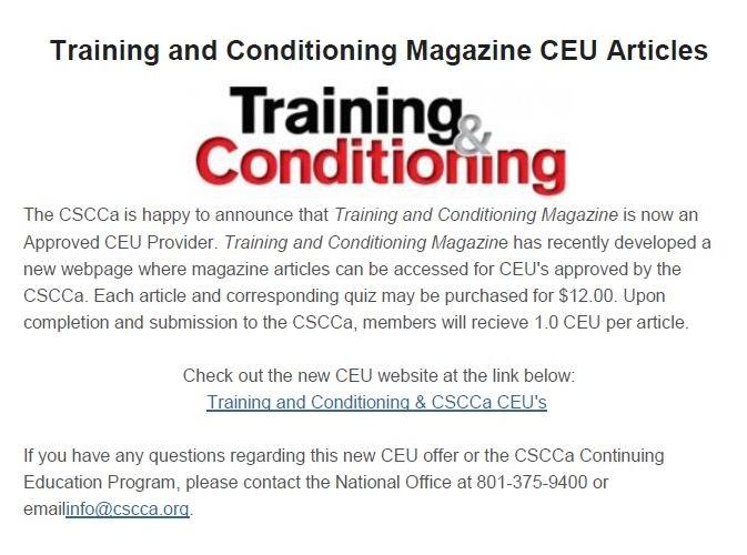 CSCCa Newsroom